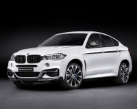 Передняя губа BMW Performance X6 F16 карбон