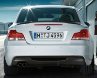 Задний бампер BMW Performance для E82